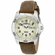 Timex T46681 Mens Expedition Traditional Watch with Rugged Brown Strap New