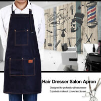 Hair Cutting Jeans Apron Cape Haircut Hairdressing Cloth Salon Barber Gown Tool