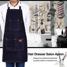 Hair Cutting Jeans Apron Cape Haircut Hairdressing Cloth Salon Barber Gown Tool