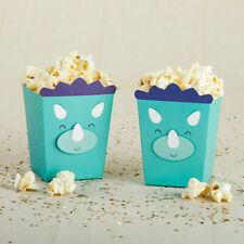 Set of 12 Dinosaur Popcorn Favor Boxes Baby Shower Birthday Party Favors
