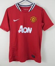 Niños Camisa De Fútbol Nike Manchester United 2011-12 Home medio chicos 10-12 10-12