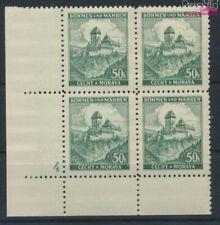 Bohemen en Moravië 26 met Nummerplaat postfris MNH 1939 Kasteel Karls (9310352