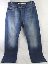 Men's Diesel Kratt Size 32 x 32 Blue Relaxed Straight Leg Jeans