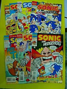 Sonic the Hedgehog #14-19 - 6 Early Sonic Issues - VG - Archie Comics