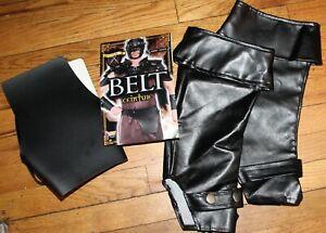 FORUM MEDIEVAL FANTASY BLACK BELT& BOOT COVER