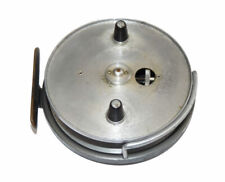 """Hardy Conquest 4"""" alloy vintage centrepin trotting reel with face plate drag ..."""