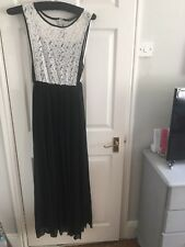 DEFINITIONS Beautiful Pleated & Lace Ladies Maxi Dress For Any Occasion!!UK 12