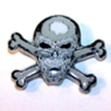SKULL X BONE IN MOUTH HAT OR JACKET PIN pin343 new jacket lapel metal skeleton