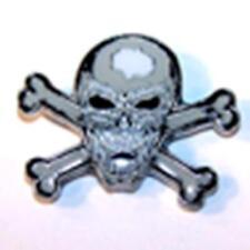 SKULL X BONE IN MOUTH HAT OR JACKET PIN pin343 new jacket lapel metal skeleton