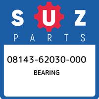 08143-62030-000 Suzuki Bearing 0814362030000, New Genuine OEM Part