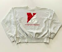 Vintage Nebraska Cornhuskers Reverse Weave Crewneck Sweatshirt Size 2XL