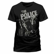 The Police Japanese Poster T-Shirt Gr.M Men At Work U2 Peter Gabriel Billy Idol