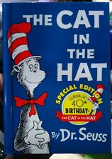 Dr. Seuss The Cat in the Hat Special 40th Birthday Edition Hardback Collectable