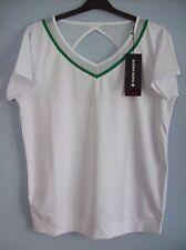 Shirt Bjorn Borg 611104 Tipper Training Top Tee T Shirt White X Large New +Tags