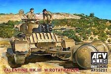 1/35 AFV Club Valentine Mk. III 3 w/ Rotatrailer #35201