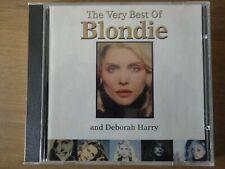 BLONDIE AND DEBORAH HARRY - THE VERY BEST OF  (20 TRACKS) - CHRYSALIS - 1994