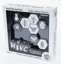 NEW Hive Carbon (Classic Black & White) with Ladybug & Mosquito expansions