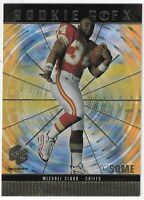 1999 UPPER DECK HOLOGrFX MICHAEL CLOUD ROOKIE GRFX AUSOME RC #78 K.C. CHIEFS