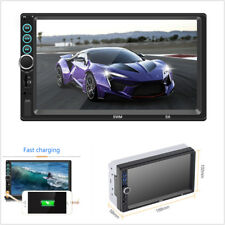 "7""HD 2Din Car Stereo Bluetooth MP5 Player Radio Video Touch Screen FM/AUX/USB/TF"