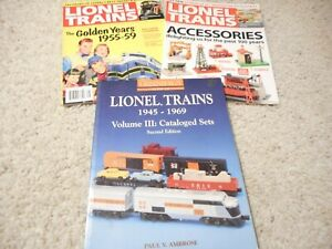 GREENBERG'S GUIDE TO LIONEL TRAINS 1945-1969 VOLUME III: CATALOGED SETS 2ND ED