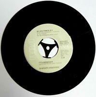 "EX/EX Elvis Presley Promised Land / It's Midnight PB 10074 7"" VINYL 45 grey"