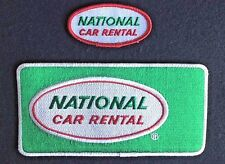NATIONAL CAR RENTAL EMBROIDERED PATCH ENTERPRISE ALAMO LARGE SMALL LOT 2