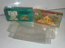 1 nintendo multi screen game & watch protector .4 thick zelda donkey kong squish