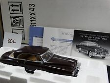 Franklin Mint 1949 Cadillac Coupe DeVille Limited Edition 1:24 Diecast Model Car