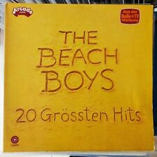 THE BEACH BOYS LP 20 GROSSTEN HITS 1977 GERMANY VG++/VG++