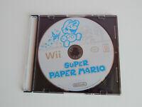 Super Paper Mario Game Disc! Nintendo Wii