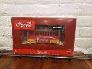 K-LINE K2627-06 COCA-COLA Electric Trolley O-Scale Trains