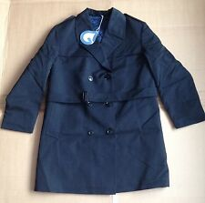 Big Grantham Weatherwear Overcoat - Vintage Quilt Lined Coat - NoS Railway etc