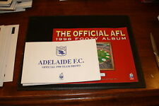 1998 Herald Sun AFL Official Team Photo Album and set of 16 cards
