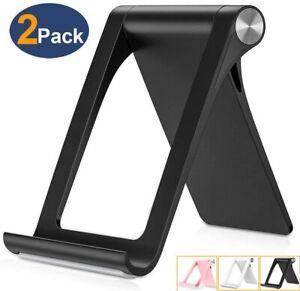 For iPhone iPad Adjustable Phone Tablet Desktop Stand Desk Holder Mount Cradle