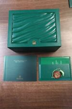 Reloj Rolex GMT Master 11 COLECCIONISTAS BOX SET Manual Porta Tarjeta Etiqueta de la caída 2013