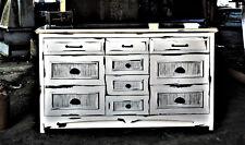 Shabby Chic Dresser, Bedroom Dresser, Sideboard, Farmhouse Credenza, Vanity