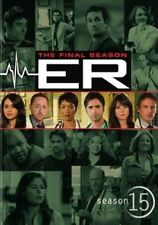Er Complete Fifteenth Season 0883929173570 With Mekhi Phifer DVD Region 1