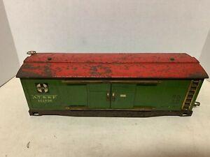 Dorfan Wide Gauge - 121499 Sante Fe Boxcar No Trucks