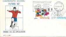 SPD FDC España Mundial 82 Edifil# 2570/2571 1980