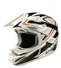 Casque cross NOX N735 Pump moto enduro cross scooter quad dirt blanc NEUF helmet