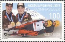 Austria 2010 Luge/Medal Winners/Winter Olympic Games/Olympics/Sports 1v (at1241)