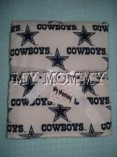 Handmade Dallas Cowboys Football Nfl Burp Cloth Burp Rag Infant Newborn Boy Girl