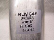 FILMCAP   60uF 400Vdc film/foil FOR TUBE AMPLIFIER CAPACITOR