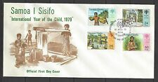 SAMOA # 499-502 INTERNATIONAL YEAR OF THE CHILD First Day Cover