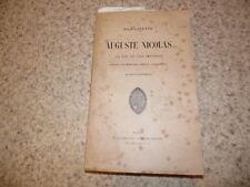 1892.Auguste Nicolas sa vie et ses oeuvres.Lapeyre