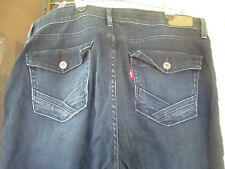 Levi's 525 Perfect Wasit Bootcut Womens Jeans Size 16 Dark Wash Flap Pockets