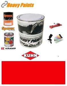 Kuhn Baler Red Paint High Endurance Enamel Paint 1 Litre Tin
