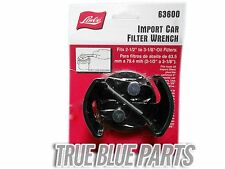 Lisle Tools 63600 Import Car Oil Filter Wrench 2-1/2' - 3-1/8""