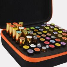 63 ranuras 1-3ml Aceite Esencial Estuche Soporte EVA almacenaje AROMATERAPIA BAG