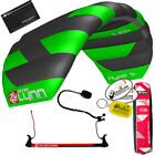 Peter Lynn Hype TR 1.6 M Foil Power Trainer Kite Kiteboarding 2-Line Control Bar